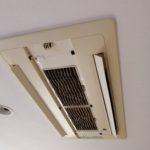市川市で天井カセットタイプのエアコンクリーニングをしてきました!