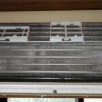 パナソニックCS-221CFR-Wのエアコンクリーニングを浦安市でさせて頂きました❗